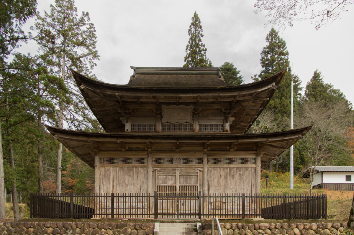 The only architectural national treasure in Hida