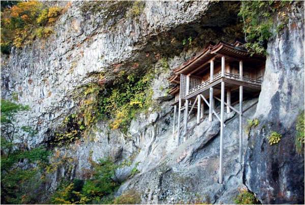 미토쿠산 산부츠지 절 (국보 나게이레도 불당)