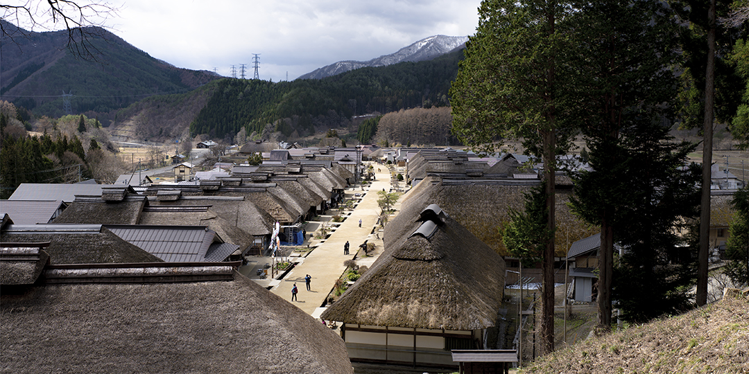 江戸時代へ、タイムスリップ〜大内宿〜