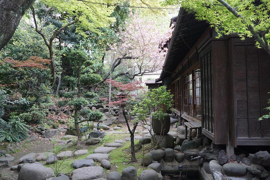なんと富士山も!?四季折々の表情を見せる庭
