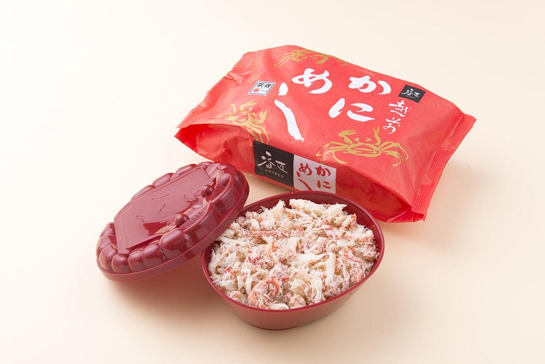 """""""Echizen no Kani Meshi"""" with a Heap of Crab Meat"""
