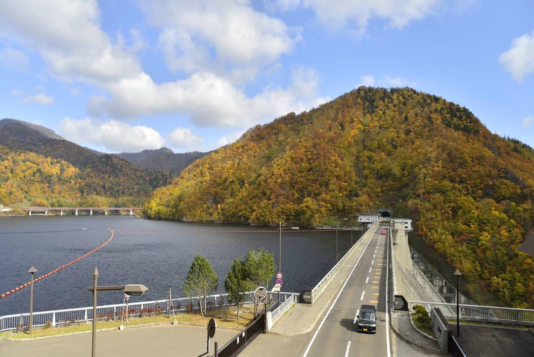 【定山渓ダム】100m超えのダムは圧巻!