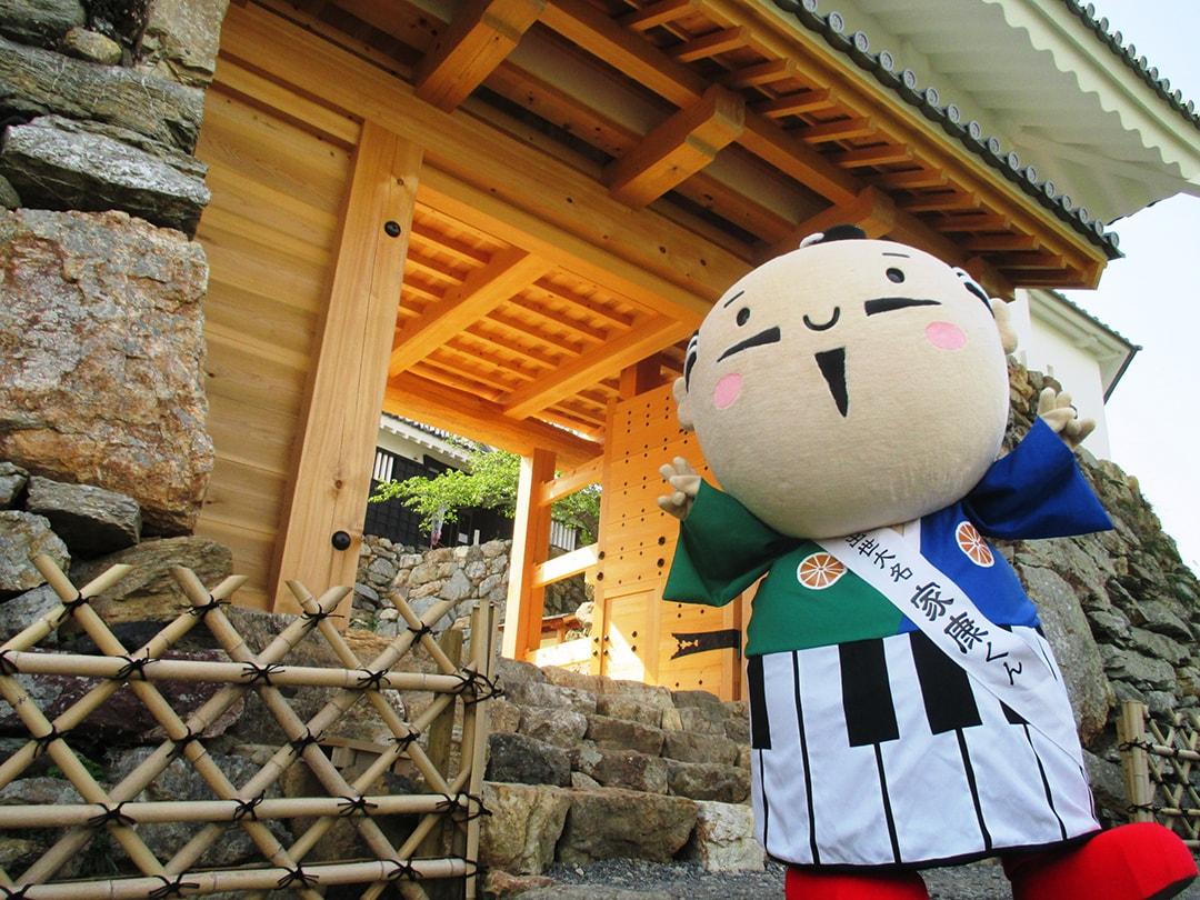 출세 다이묘 이에야스군(시즈오카현 하마마쓰시)