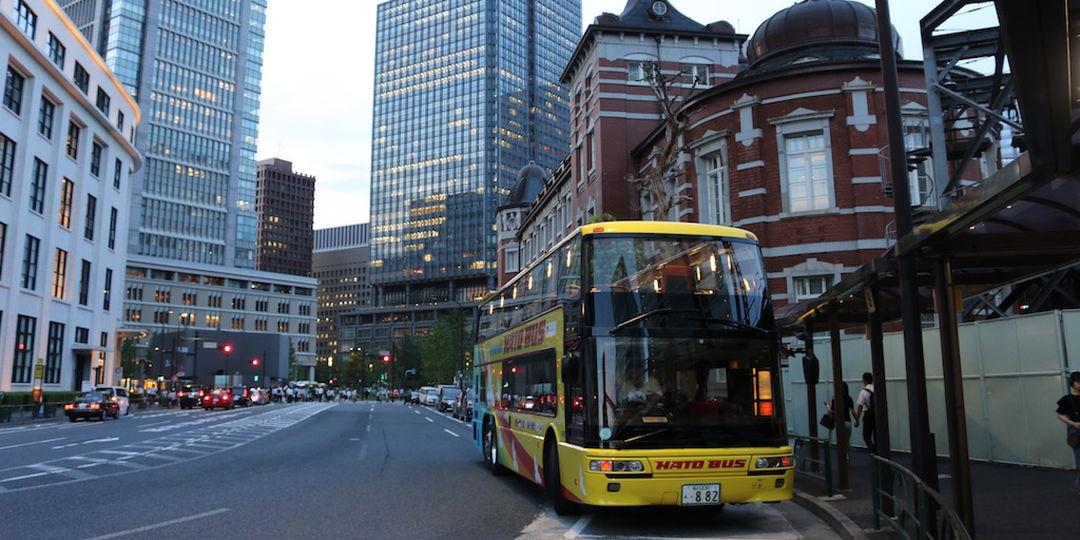 【TOKYOナイトスポット】〔はとバス〕の2階建てオープンバスを体験!