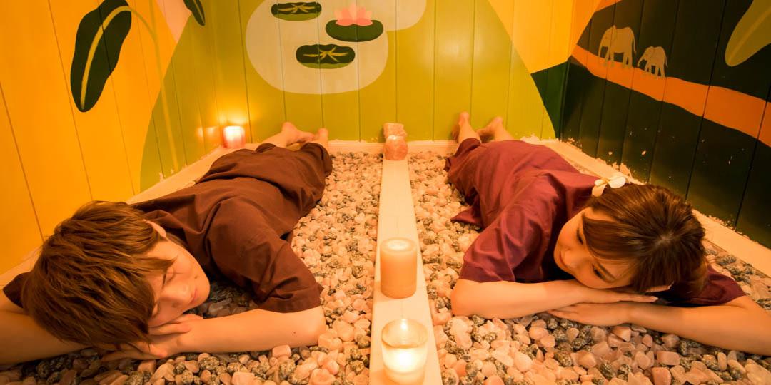 岩盤浴のある東京のスーパー銭湯&サロン