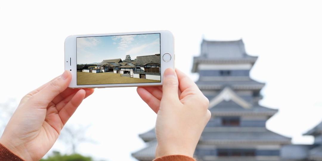 그 유명한 성이 VR 기술로 여러분의 스마트폰에 되살아 납니다!