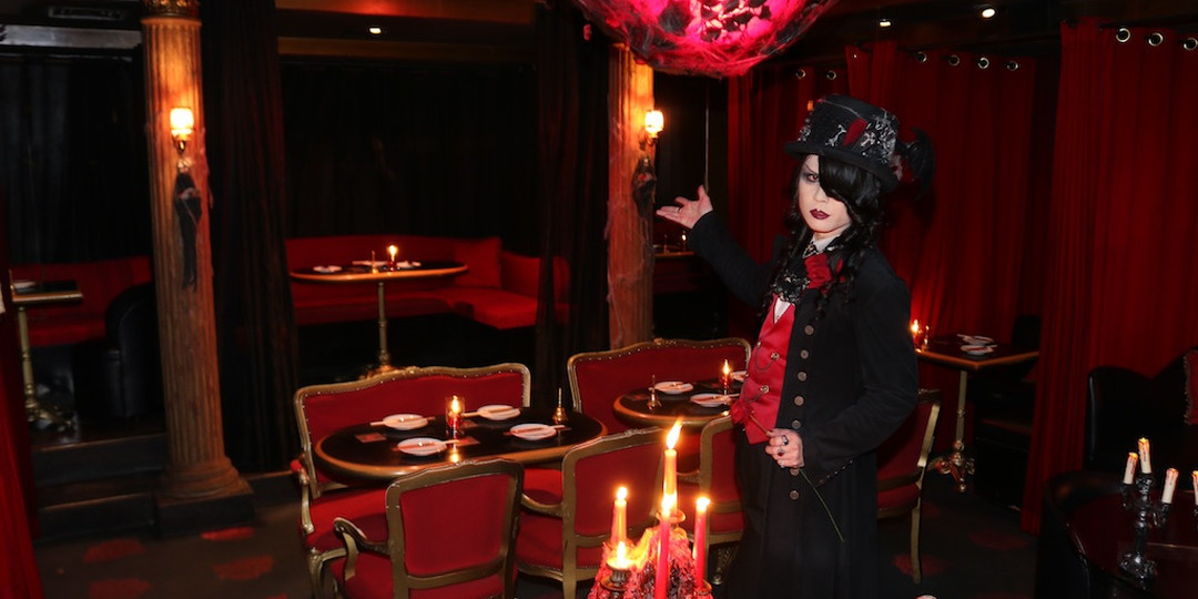 TOKYO NIGHT SPOT - It is a well-established restaurant in Ginza under a concept of a place where vampires gather every night.