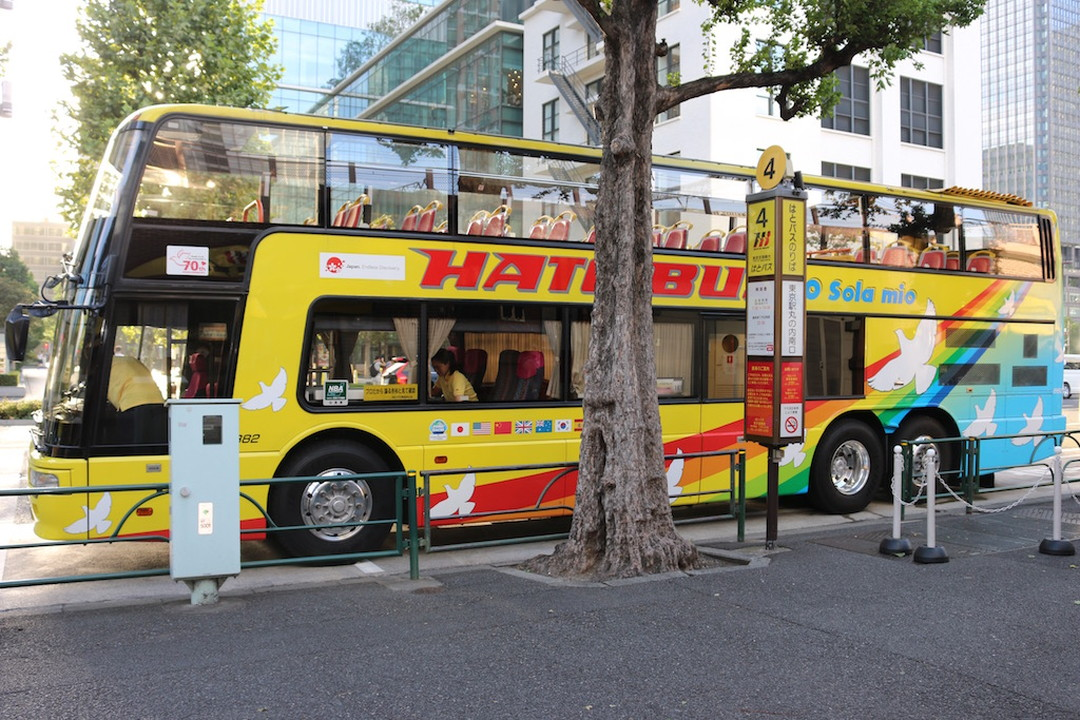双层敞篷巴士「'O Sola mio」