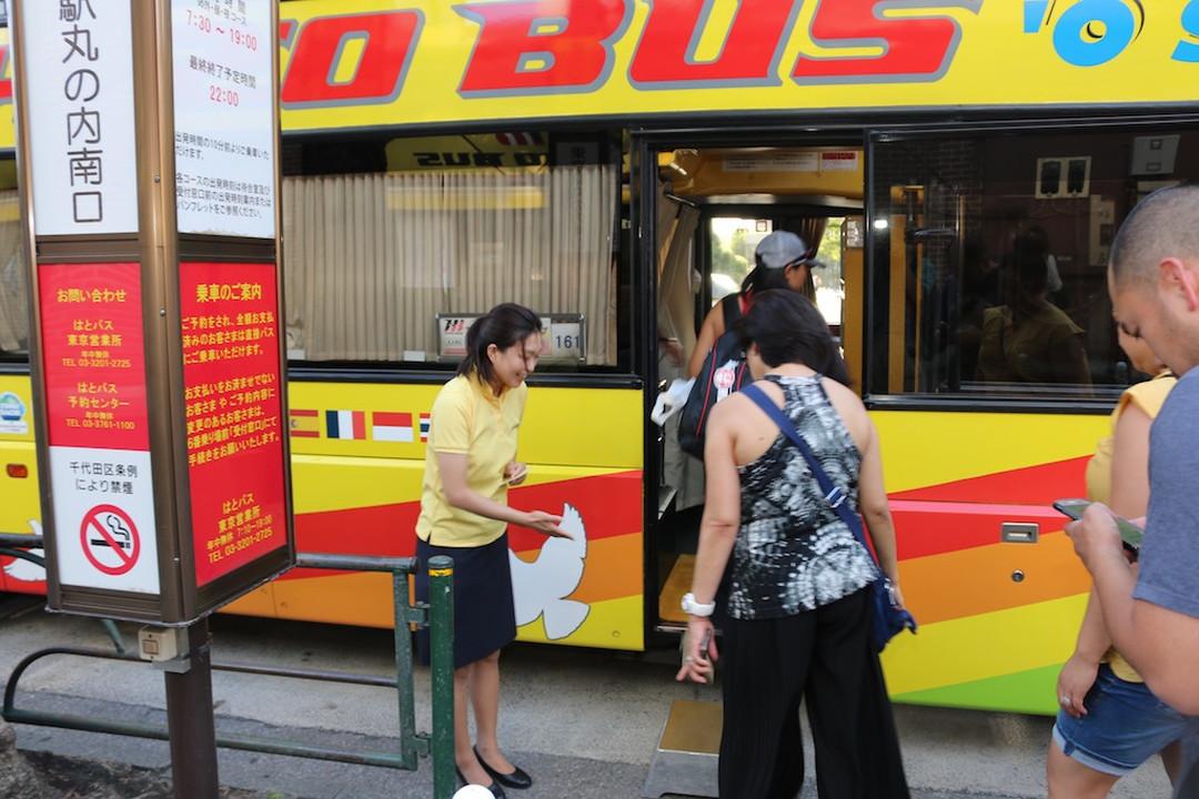 哈多巴士下雨天也可运行,是很安全的巴士。