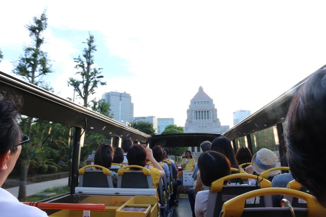 建筑费600亿日元的国会议事堂