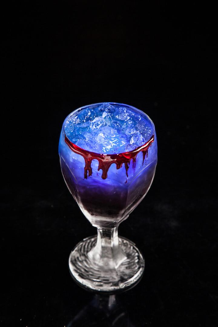 吸血鬼風格的原創雞尾酒