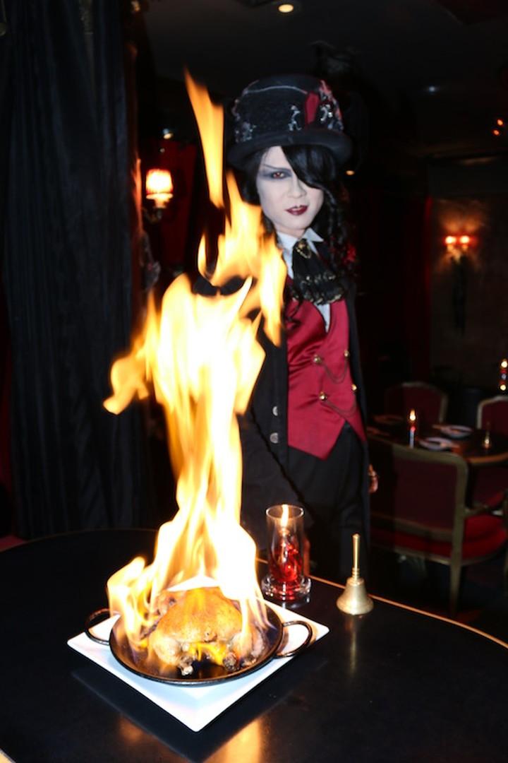 真的燃燒起来了!