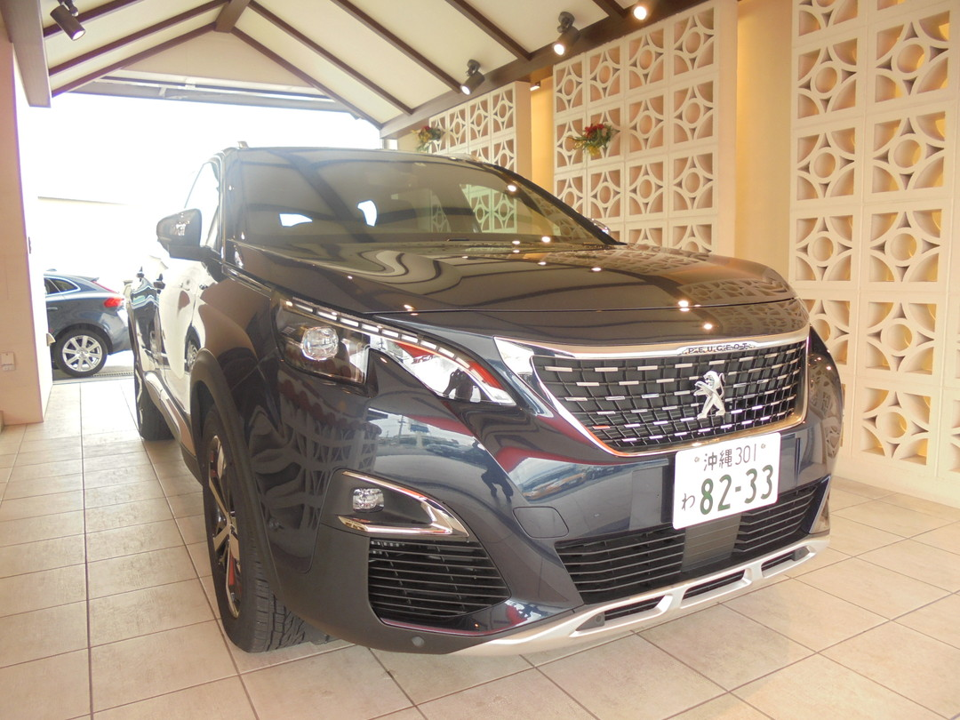 [Recommended car③]Peugeot 5008