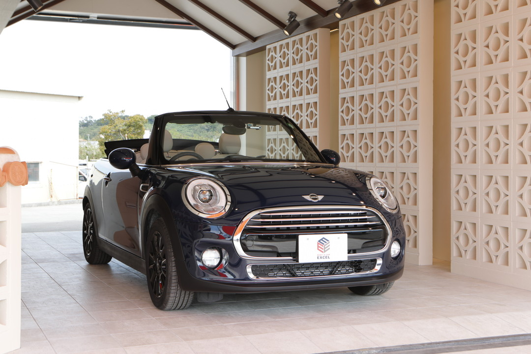 [Recommended car④]BMW Mini convertible