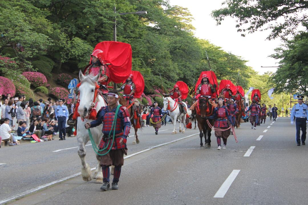 The Hyakumangoku Festival (百万石祭) – Kanazawa (金沢)