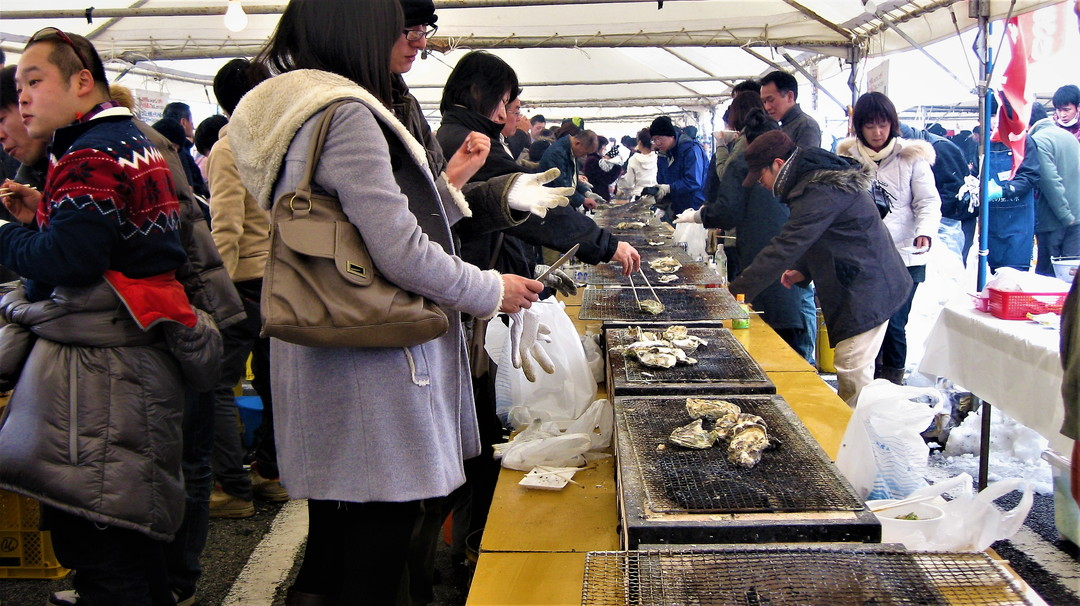 The Oyster Festival (牡蠣祭) – Anamizu (穴水)