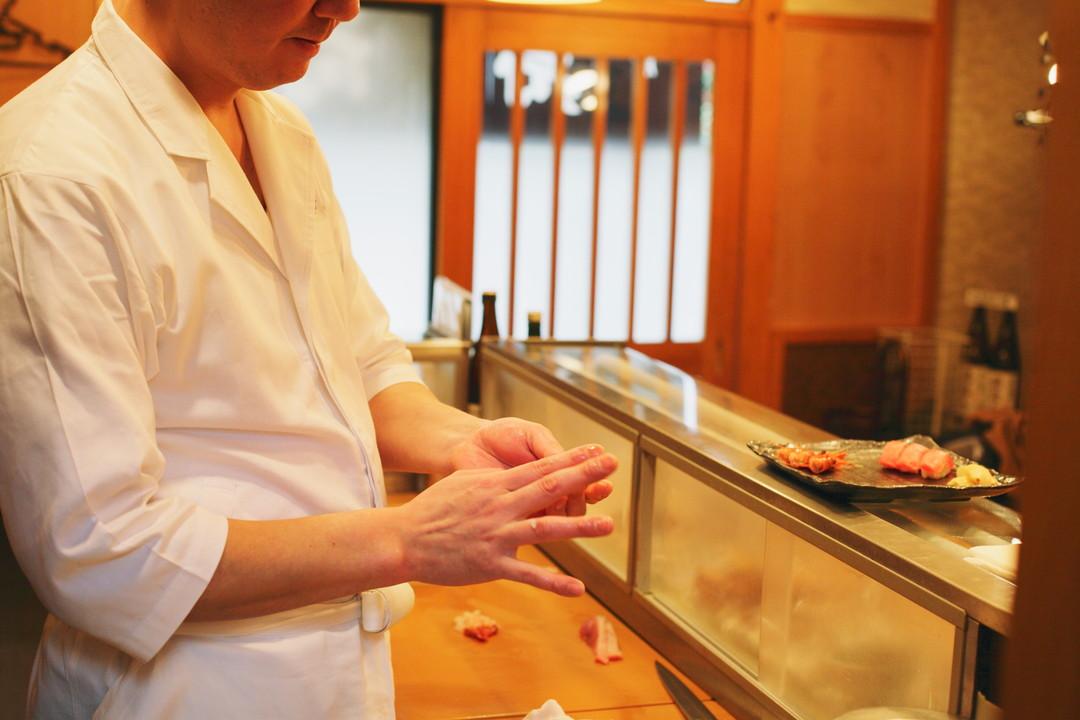 Ordering sushi