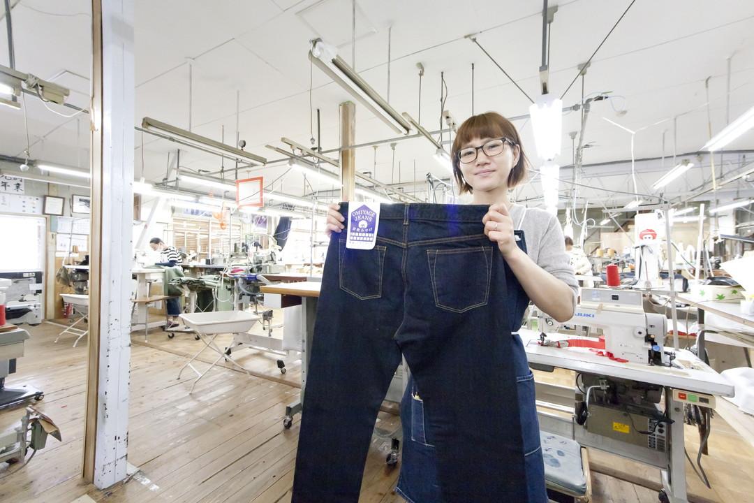 児島で最も古い縫製工場もぜひ見学してみよう