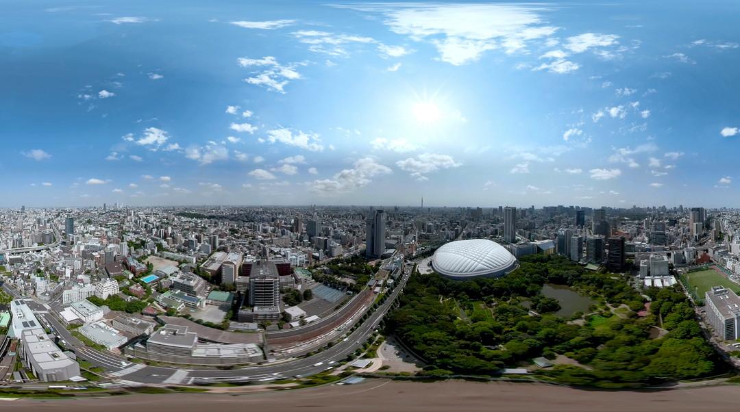 文京天空全景