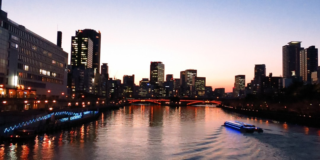 Enjoy Osaka cruise by waterbus and visit Osaka Castle and Dotonbori!