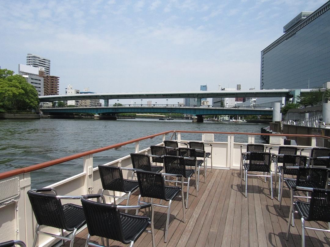 水都號水上mini大阪城觀光船也有很高的人氣