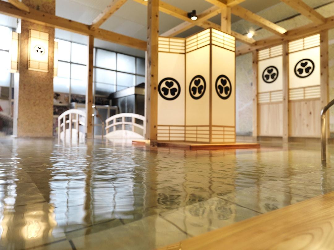 Convivial entertainment Onsen amusement park Ooedo-Onsen-Monogatari Minoh Onsen Spa Garden