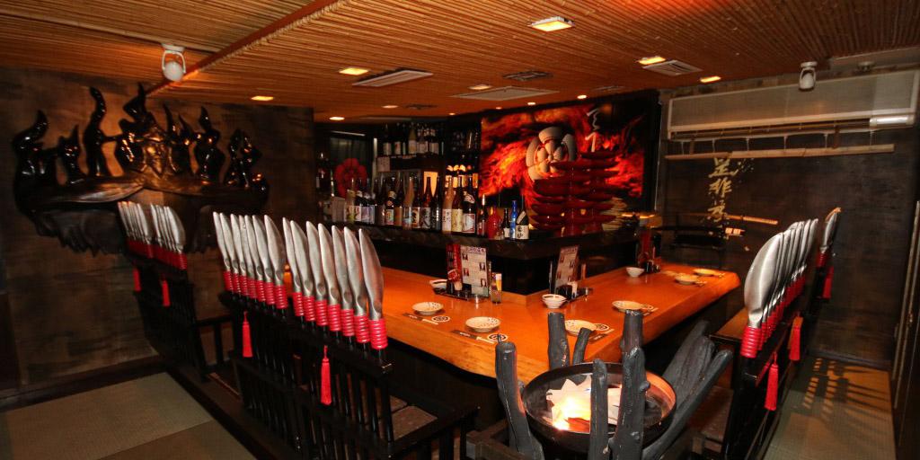 【TOKYO夜間景點】可以體會日本武將氣氛之居酒屋[戰國武勇傳]的推薦ROOM!