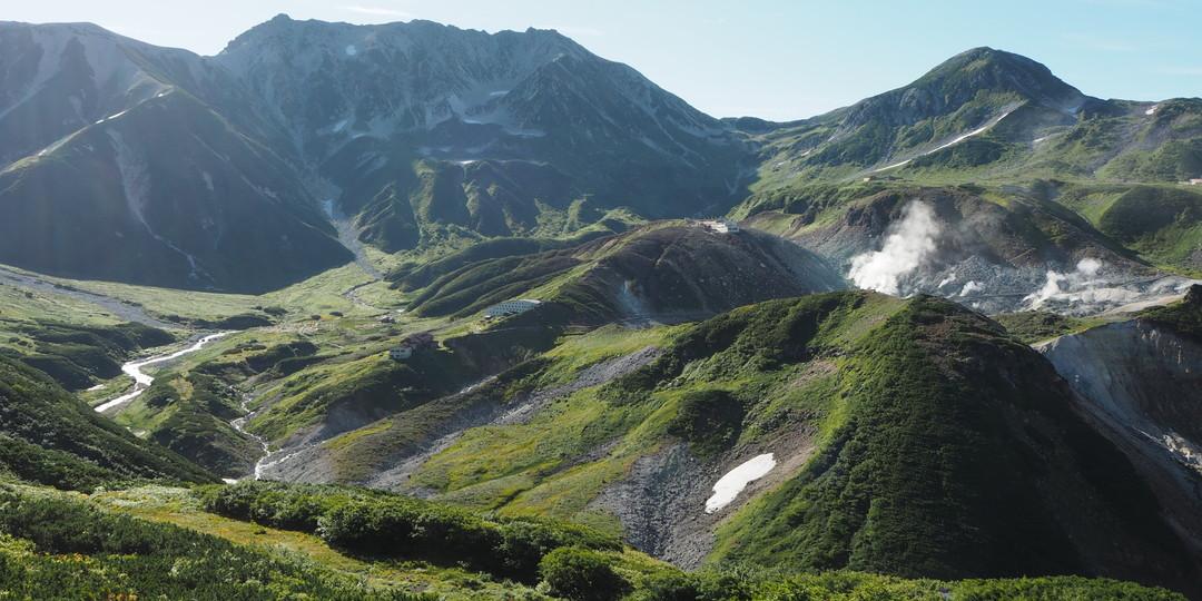 일본 최고의 다섯 가지 산악 풍경