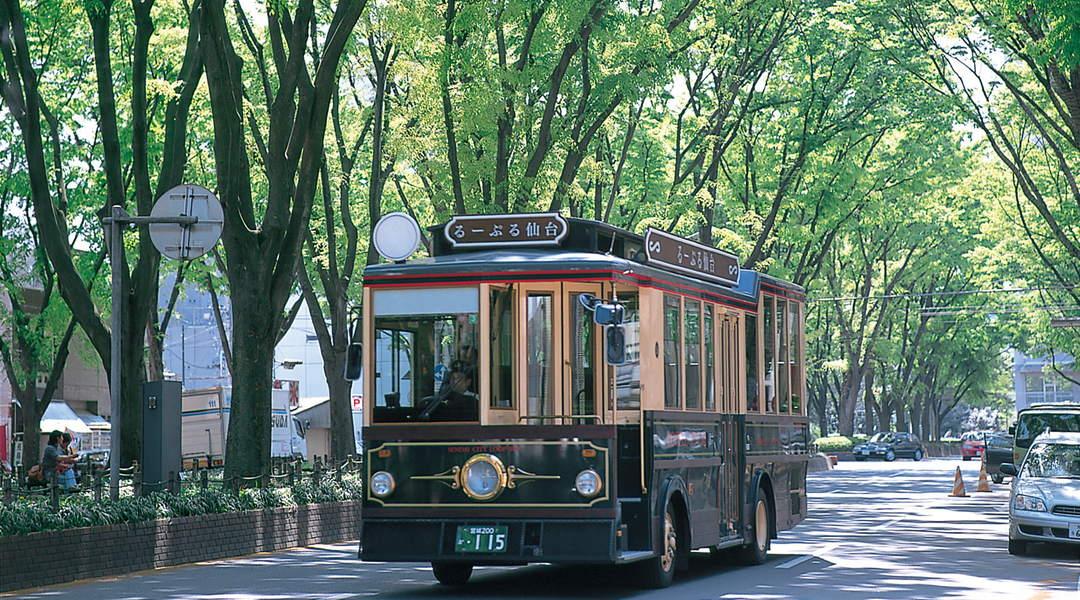 伊達政宗ゆかりの史跡を巡る循環バス「るーぷる仙台」で仙台観光