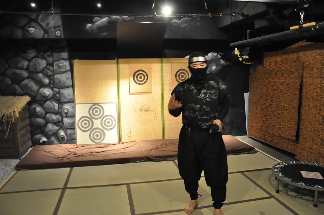 讓人久等的實際演練!手裡劍跟拔刀好有趣!
