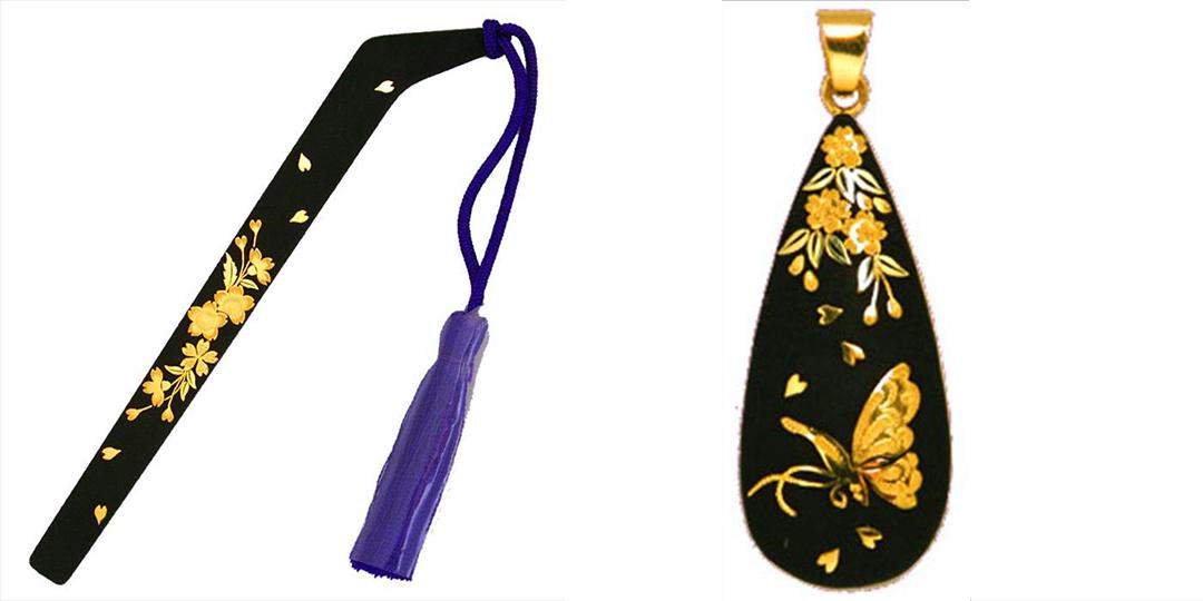 由武具的裝飾進化為首飾跨越時代的「肥後象嵌」