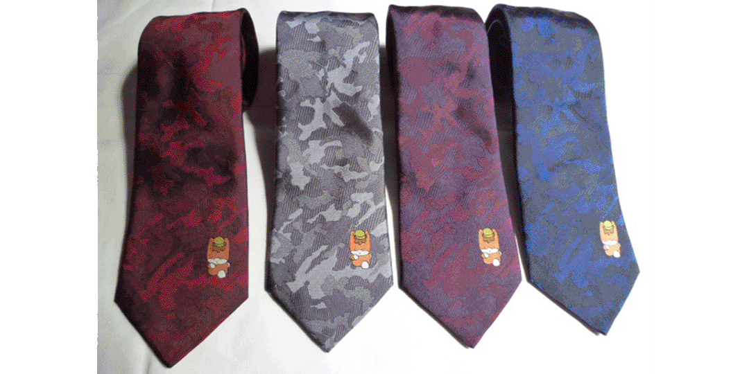 """""""Cute"""" tie of 1300-year-old Kiryu Ori"""