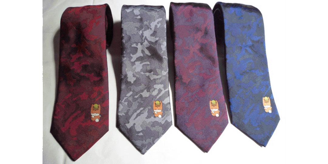 """具有長達1300年歷史的桐生織""""可愛""""領帶"""
