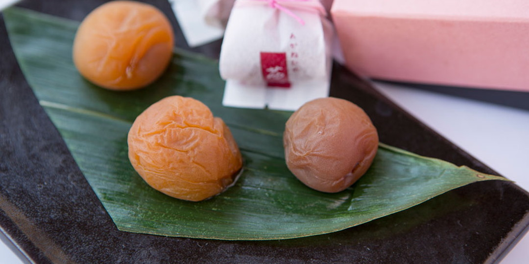 Ume plum treat from Yamagata featuring the unadulterated goodness of nature