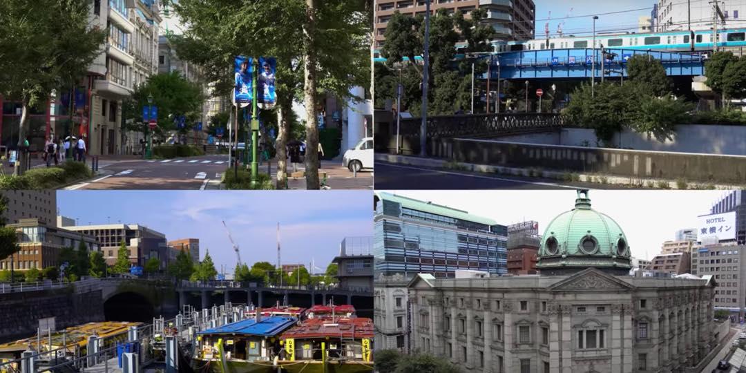 【Bashamichi History Walking】 Meiji 150 yearly transition digest movie