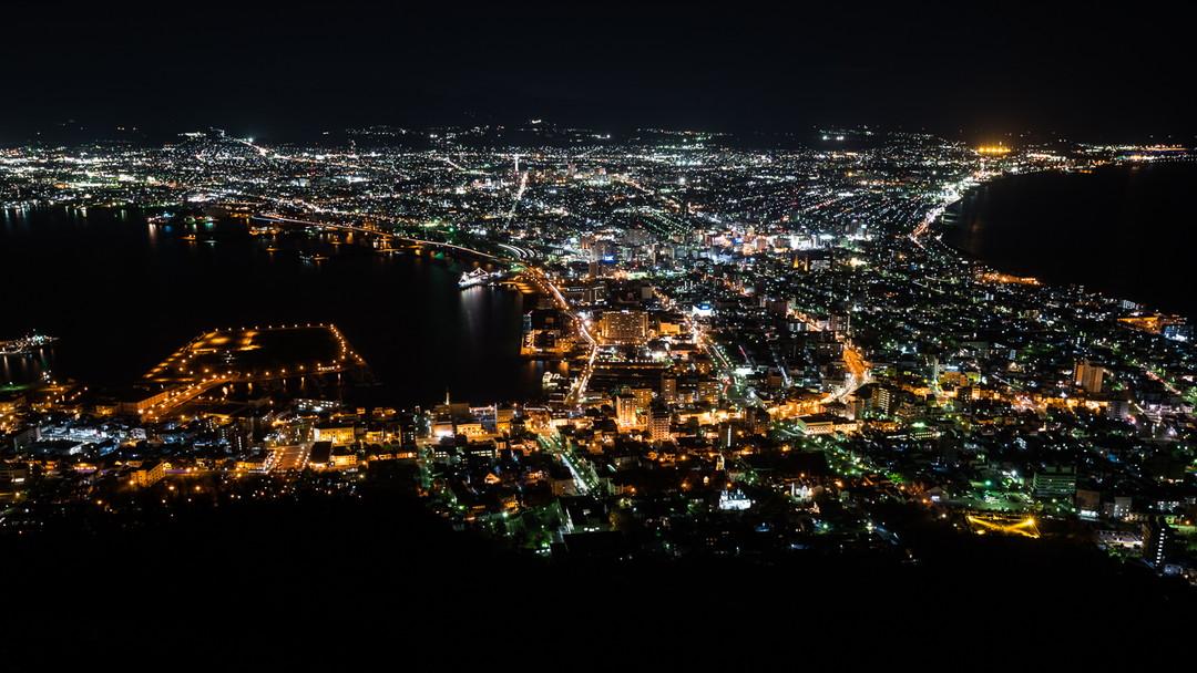 Stunning Night Views from Mt. Hakodate