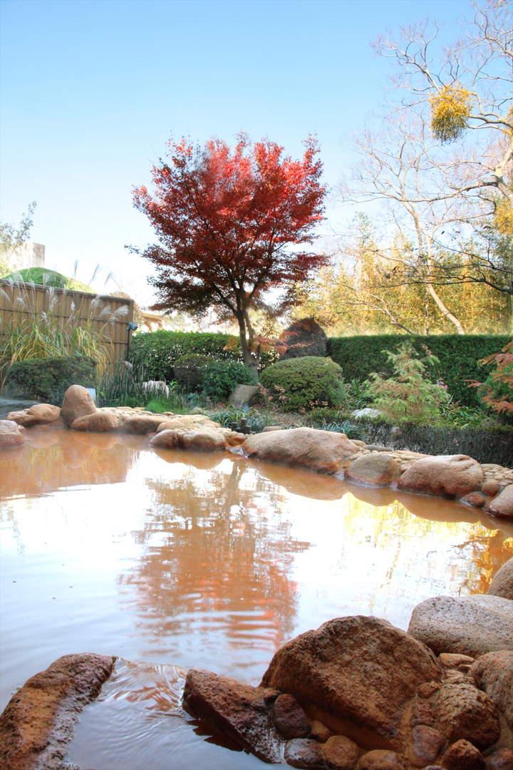 能够在丰臣秀吉喜爱的天下统一之汤中欣赏红叶的【有马温泉 兵卫向阳阁】