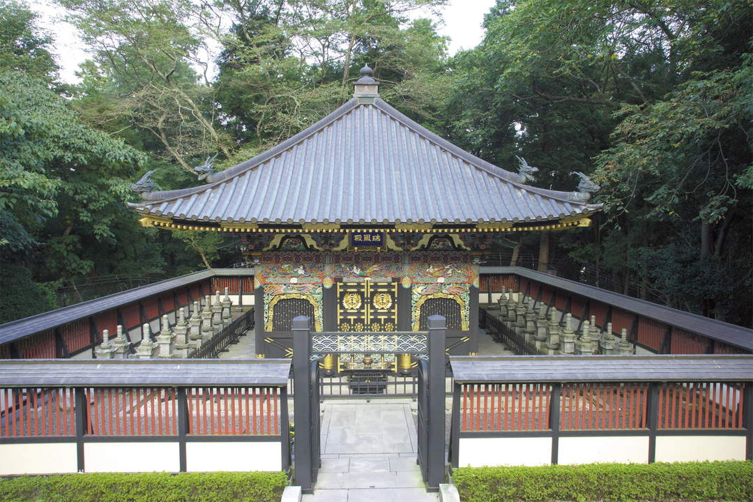 To the splendid mausoleum where Date Masamune rests in peace