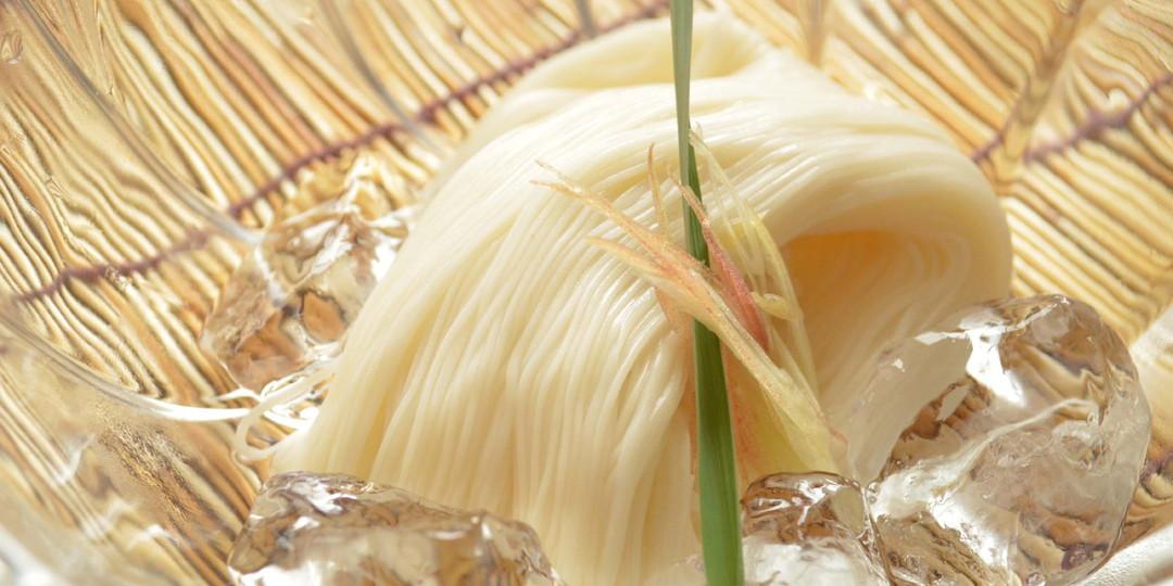稻庭素麵與極上沾麵醬汁組合