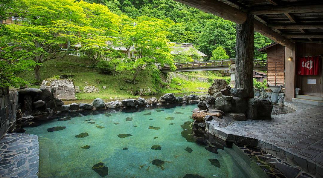 【花巻南温泉峡】渓流沿いの名湯で日帰り温泉を楽しむ