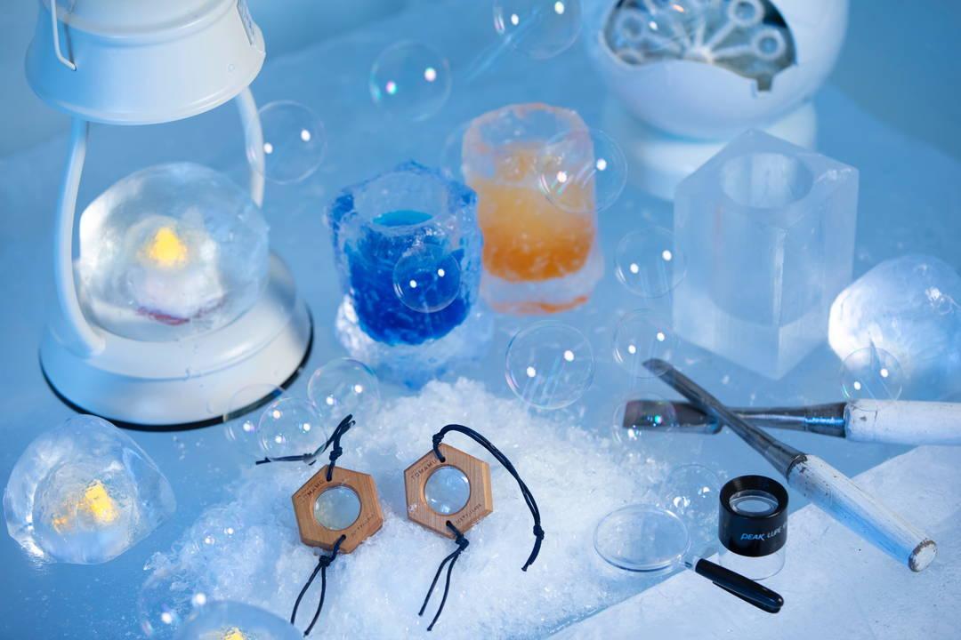 【氷のGAO】氷を使って工作遊び