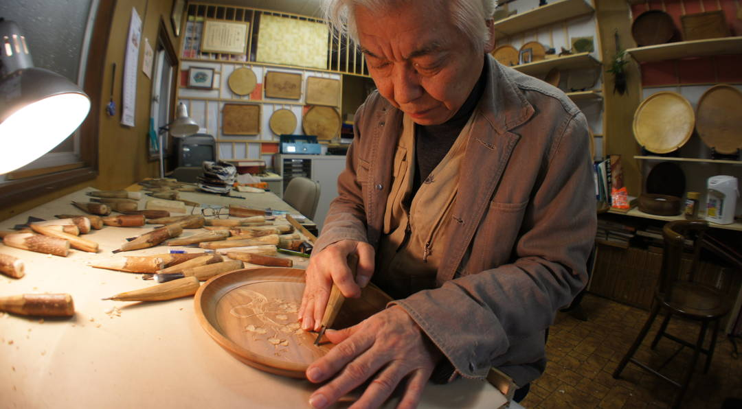 Miyajima-zaiku reflecting the skill and passion of craftsmen