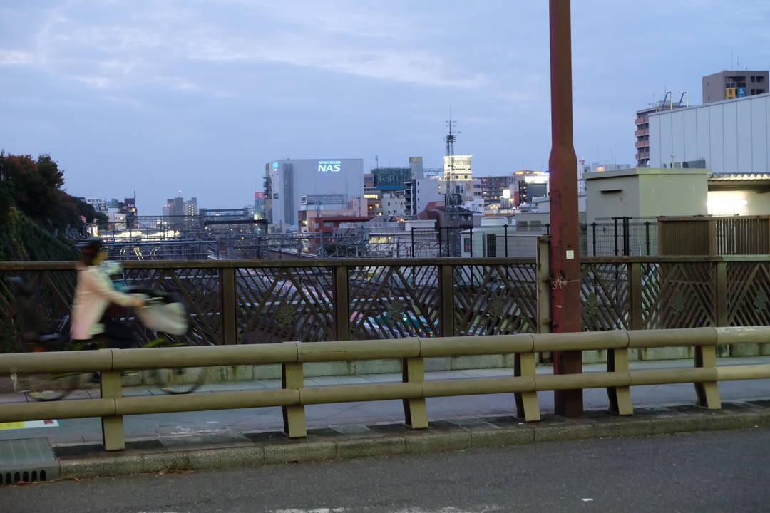 谷中銀座散歩のスタートは日暮里駅から