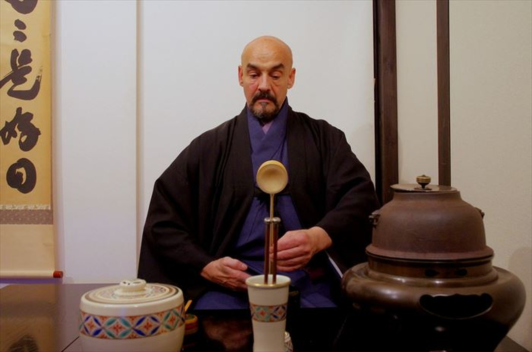A teacher of the Japanese tea ceremony from Canada!