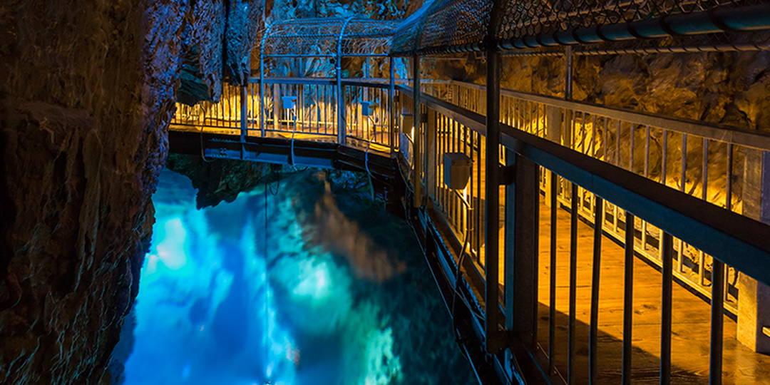 """【岩泉】被神秘的大自然感动!宛如梦幻世界的钟乳洞""""龙泉洞"""""""