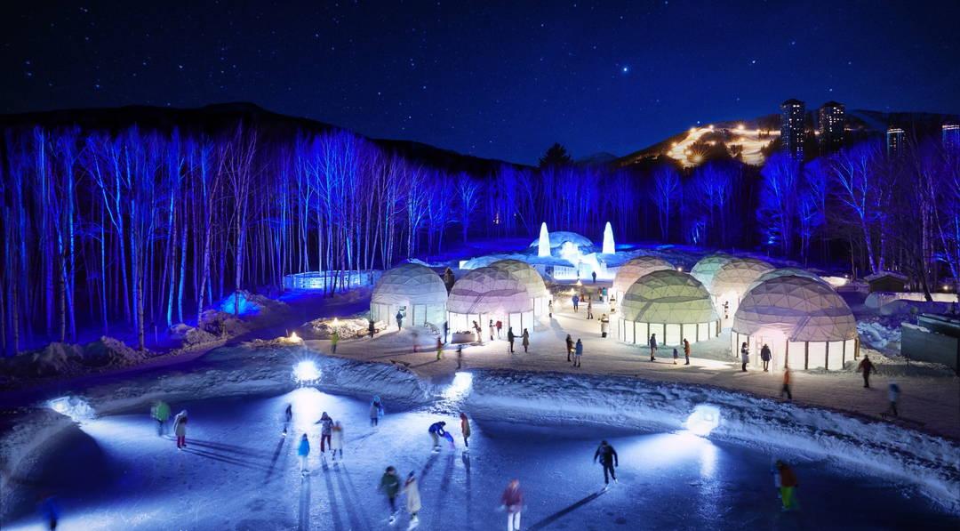 【星野度假村 TOMAMU】在冬天才会出现的冰之街度过特别的时光吧!