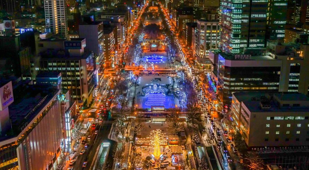 【冬天的北海道】发挥本领!?  畅玩被雪妆包裹的札幌吧!