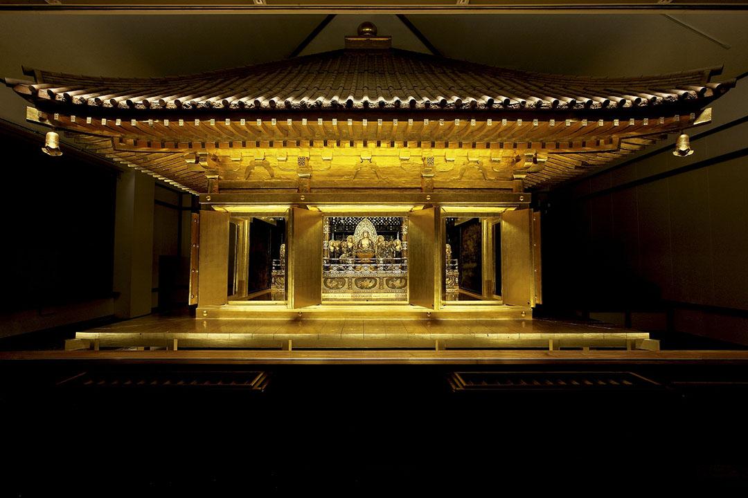 超越時代,金碧輝煌的金色堂 中尊寺