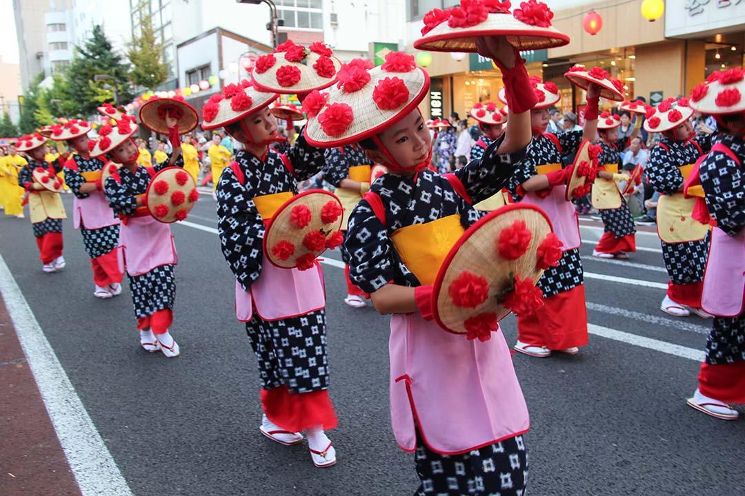 야마가타 하나가사 축제