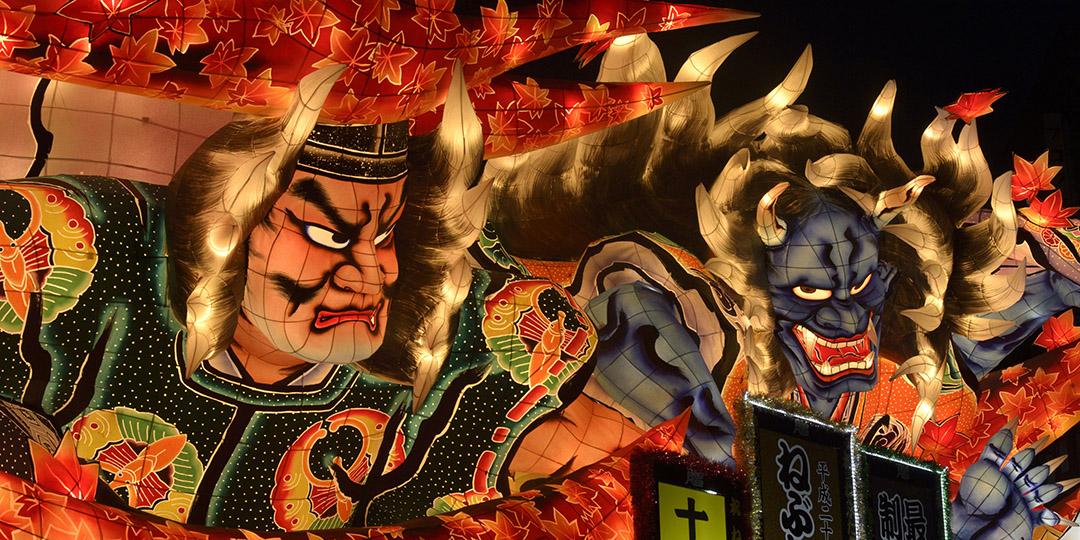 비일상적인 분위기를 느끼다. 일본의 축제